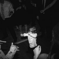 Kid Dancing at Wedding in Utah