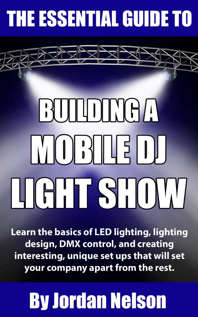 book about lighting and lights and programming for mobile djs