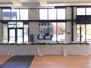 another picture of utah wedding venue with dj equipment